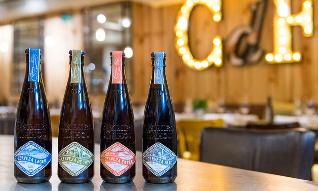 Las cervezas de Casimiro Mahou en Casa de Fieras Madrid